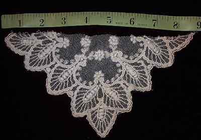 Antique Net Lace Collar Trim for Sewing Cotton Vintage Craft Art Projects Dolls