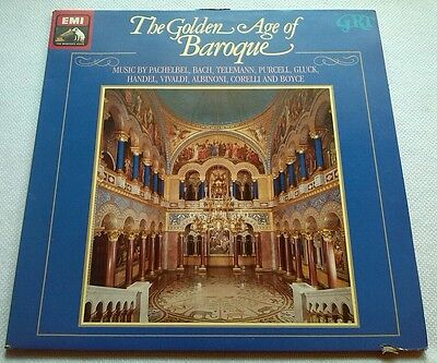SLS 2900283 - THE GOLDEN AGE OF BAROQUE - Ex Double LP