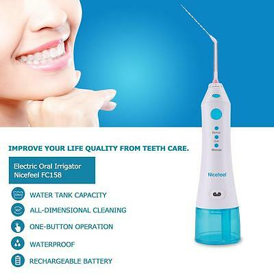Nicefeel FC158 5W Electric Oral Irrigator Rechargeable Dental Water Flosser X6M6