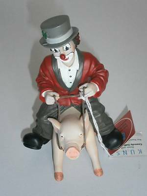 Gilde Clown - Comedy Collection - Der Glücksritter - 12,5 cm - mit Karton