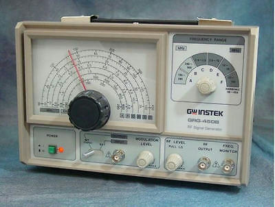GW Instek GRG-450B RF Signal Generator Ham Radio Test Equipment NEW
