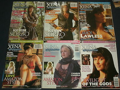 The Official XENA, Warrior Princess Magazine; Lucy Lawless, Renee O'Connor,Sorbo