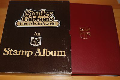 Weeda Stanley Gibbons Stamp Album, Brand new in slipcase, pages to 1978, w/ BOB