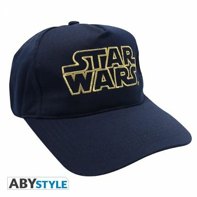 Star Wars Logo marineblau Kappe