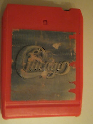 '8 track' Music Cartridge / tape: Chicago ll