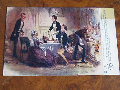 Antique Postcard - In Dickens Land - David Copperfield - Raphael Tuck & Sons