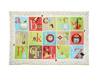 Skip Hop Alphabet Zoo Mega Play Mat - Quilted Baby / Infant Playmat for Floor