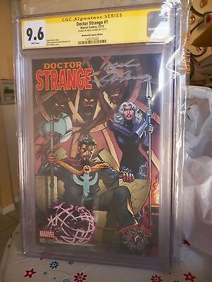 Dr. Strange #1 Mammoth Comics Exclusive Cgc Ss 9.6 Signed By Neal Adams