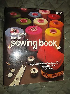 (1299) 1980 The Complete Family Sewing Book