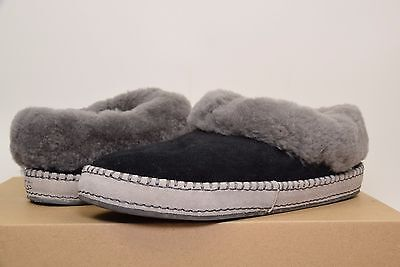 NEW Womens UGG Australia WRIN Black BLK 11 Shoes Slippers Moccasins AUTHENTIC