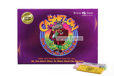 Cashflow 101 Kiyosaki Board Game Cash Flow 101 Boardgame + Free Express Ship