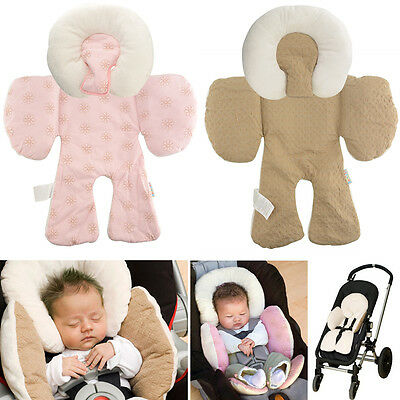 New Baby Soft Infant Stroller Pram Pushchair Two Sided Seat Cushion Body Liner