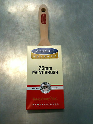 PAINT BRUSH / BRUSHES ABC MONARCH 75mm THICK STOCK