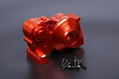 Alloy CNC gear box Orange Red Fit Hpi Baja RV KM 5B 5T 5SC