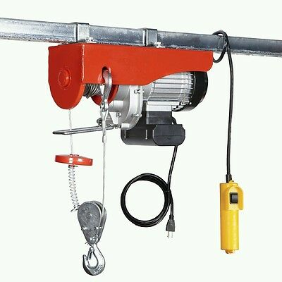 !! NEW !! 1100 lb. Electric Hoist with Remote Control Crane