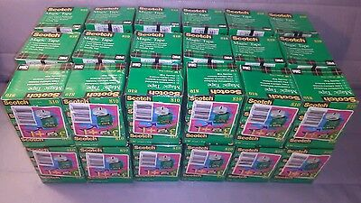 "Lot of 144 roll 1296 inches Scotch Invisible Magic Tape 3 M, 3/4X 1296""19mmX33m"