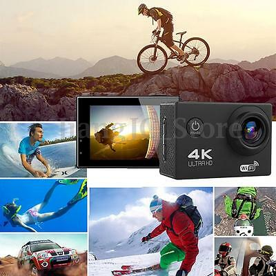 SJ8000 4K Ultra HD 2.0'' LCD 170º Wide Angle WiFi Sports Action Camera Camcorder