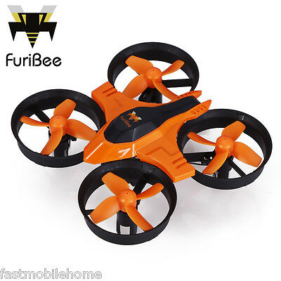 FuriBee F36 RC Quadcopter Mini 2.4GHz 4CH 6 Axis Gyro Headless Mode LED Speed