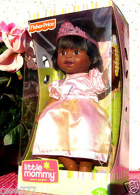 Princess Little Mommy Doll Sweet As Me Fisher-Price African-American Age 3+ New