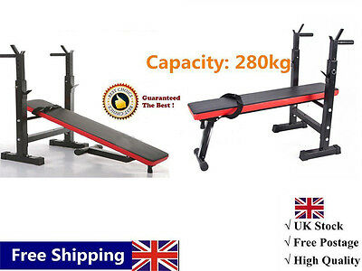 Weight Bench Fitness Workout Bench Gym Masrter Effectively Exercise Chest UK