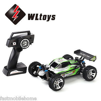 WLtoys A959 A 1:18 4WD Off-road Buggy RC Car 35km/h 2.4GHz 2CH RTR Splashproof