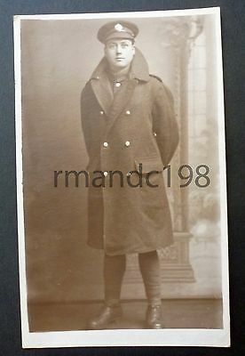 Postcard Of Unknown Soldier (?jim Evans) Probably King's Regiment