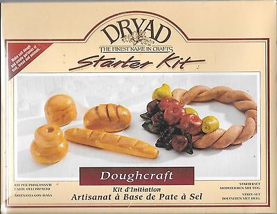 DRYAD starter set doughcraft fruit bread 7176126 garlands BNIP salt dough art