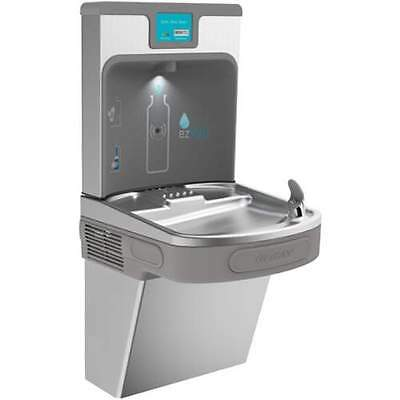Elkay LZS8WSSP Drinking Fountain w/ Bottle Filler Station and Digital Display