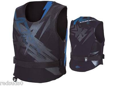 Jobe Ruthless Side Entry Neoprene Mens Black/blue Buoyancy Aid S M Xl Xxl