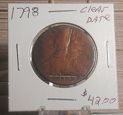 1798 Large Cent Clear Date Priced to Sell