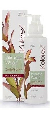 KOLOREX Intimate Wash 250ml for Natural pH Balance soap-free horopito