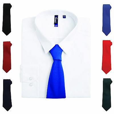 Mens Plain Tie Wedding Classic Business Formal Necktie Funeral