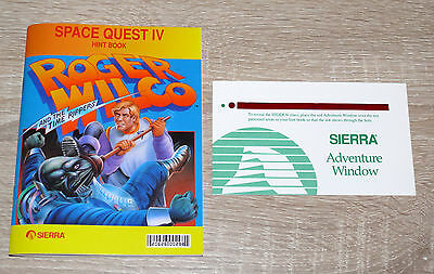 Hintbook für Space Quest IV - Roger Wilco and the Time Rippers (1991) gebr.