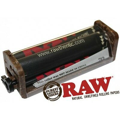 RAW Dark Rolling Machine 70mm for Normal Size paper 2 Way Roller (Authentic Raw)