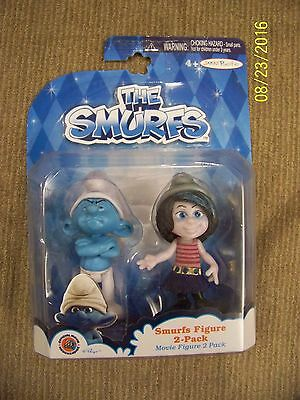 Smurfs Figures 2-Pack Grouchy & Vexy by Jakks Pacific New in Package