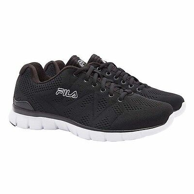 NEW IN BOX Fila Men's Athletic Shoe , BLACK PICK SIZE NEW!!