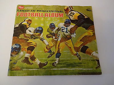 1963 Post Cereal Cfl Canadian Football Album, No Cards Included