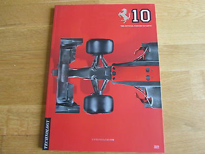 Ferrari Official Yearbook Magazine Brochure 2010 Issue No. 10 F1 Rrp €50