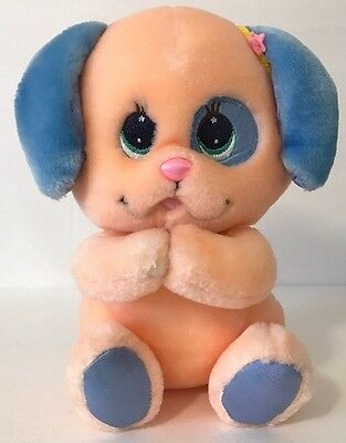 "1985 Mattel Angel Puppy Dog Plush Baby Toy 8"" Angel Bunny Friend"
