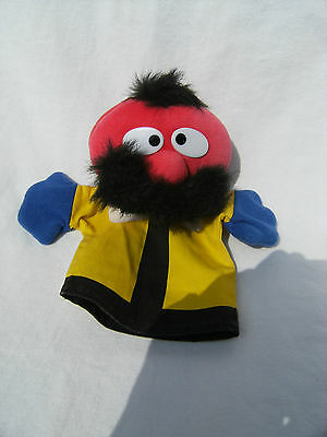 The Magic Roundabout Zebedee Hand Puppet 9.5 Soft Toy