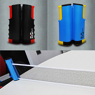 Grey Replacement Games Retractable Table Tennis Ping Pong Portable Net Kit EF