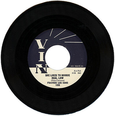 "Frankie Lee Sims  ""she Likes To Boogie Real Low""   Classic R&b    Listen!"