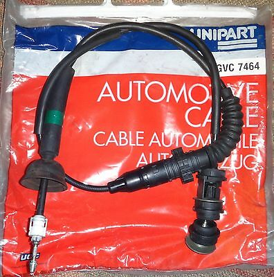 Unipart Clutch Cable Gvc7464  Fits Peugeot 405 1.9 Turbo Diesel 7/93 - 1/97