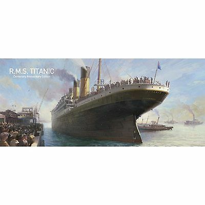 Academy 1/400 Rms Titanic Centenary Edition 1 Of 5000 Kit # 14202 Factory Sealed