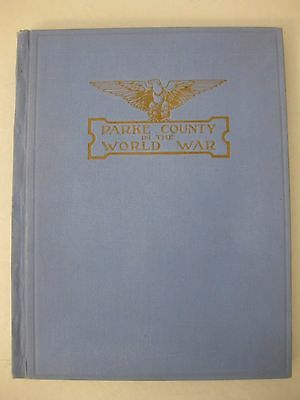 Parke County (Indiana) in the World War WW I Portraits of Gold Star Men 1920