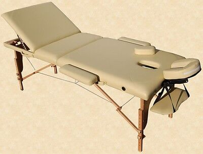Portable Massage Table Reiki Couch 3-section in yellow