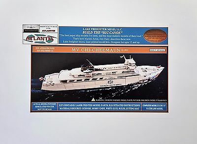 Chi-Cheemaun Great Lakes Ferry Boat Paper Model Atlantis Toy & Hobby