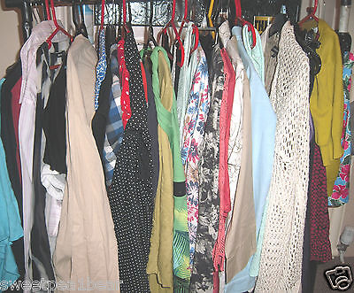 Carboot Market Job Lot Bundle Clothing 58 Used Ladies Grade A Randomly Selected