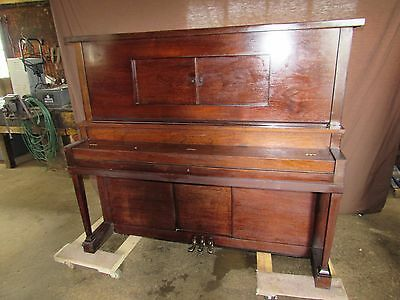 1862 Antique Monarch House of Baldwin Player Piano #S153