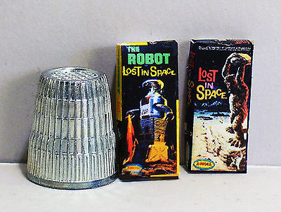 Dollhouse Miniature Aurora Model Box Set 60s Lost In Space Robot Cyclops 1:12